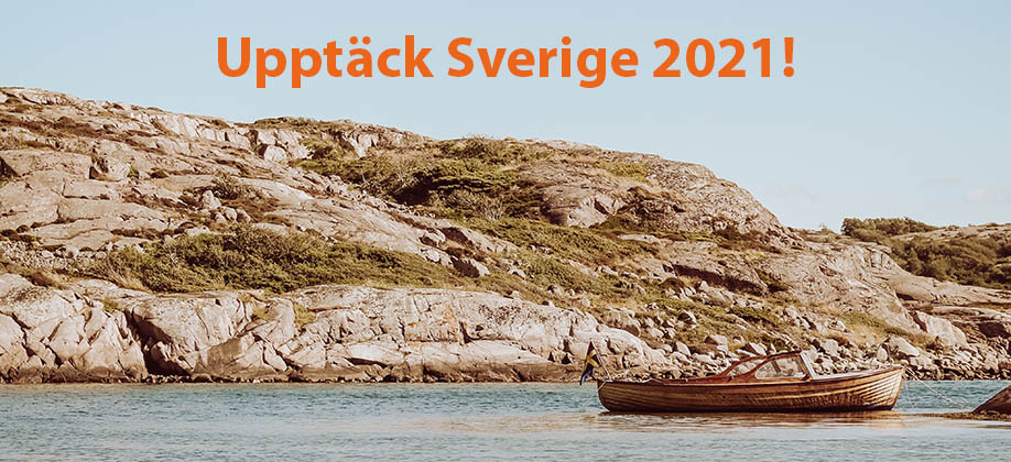 Utforska Sveriges alla hörn!